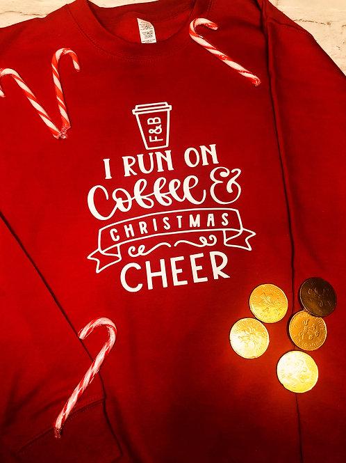 Christmas Sweater: Coffee & Christmas Cheer