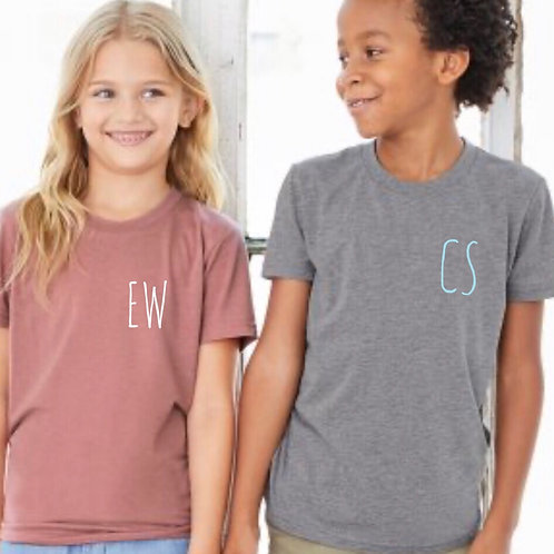 Baby to Youth Initial Tee