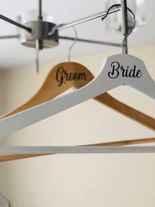 Wedding Day Personalised Hangers