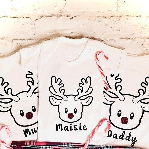 Family Christmas T-Shirt Set