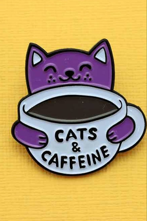 Pin Collection: Cats and Caffeine