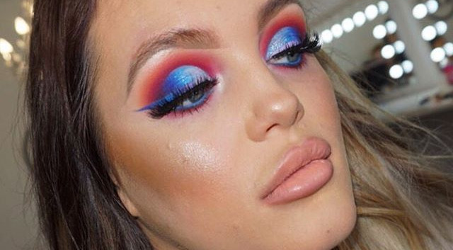 Popping Blue and Ombré Liner 🧜🏼♀️🦋✨