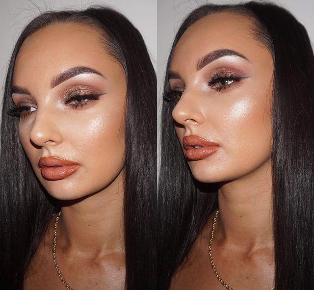 Bronzed Makeup Look✨✨✨✨ Last minute appo