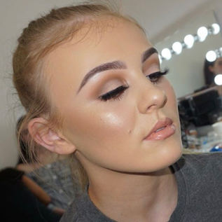 Soft Glam Make-up 😍✨✨ Tatti Lashes TL4