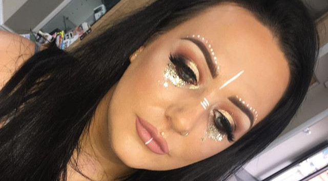 Festival Make-up 👑🌞✨ Couple of afterno