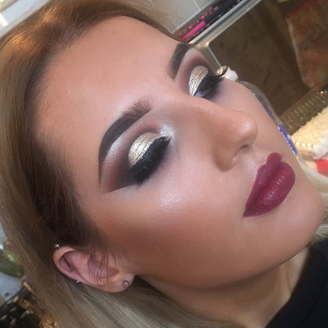 Heavy Glam Make-up 🔥💋 Still have some