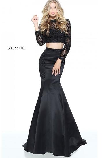 Sherri Hill 51107 Black