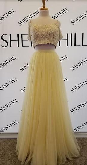 Sherri Hill 51771 Yellow