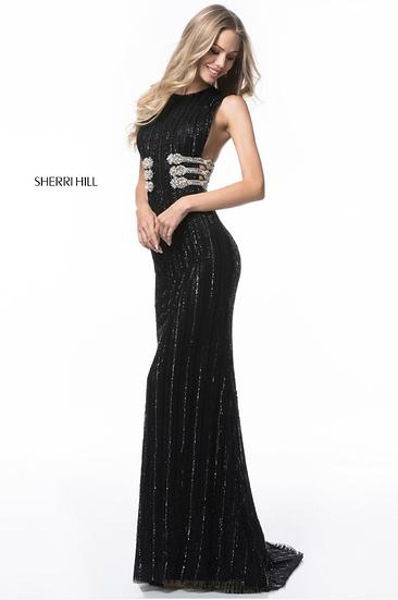 Sherri Hill 52051 Black