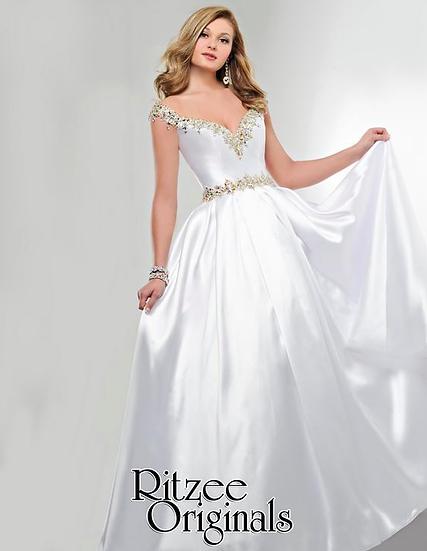 Ritzee 3247 White/Gold