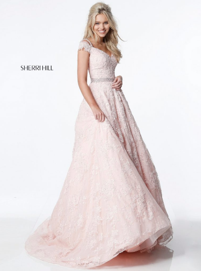 Sherri Hill 51451 Blush