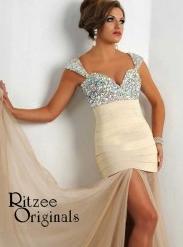 Ritzee 2424 White/Nude