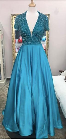 Sherri Hill 51819 Turquoise