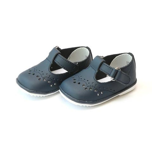 Angel Baby Shoes T-Strap Navy