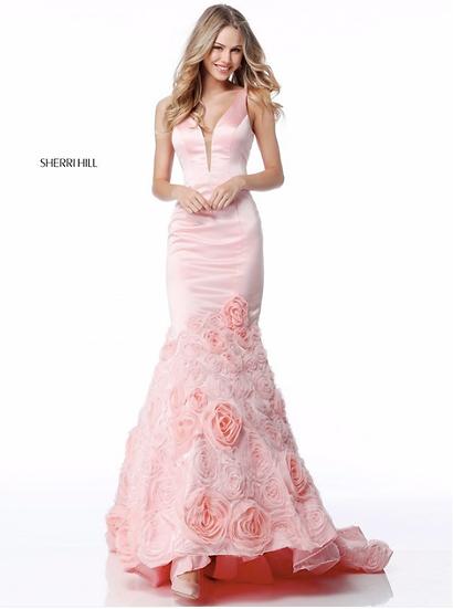 Sherri Hill 51886 Blush