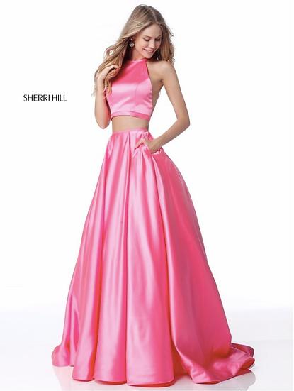 Sherri Hill 51883 Candy Pink