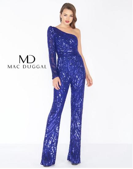 Mac Duggal 4636R Royal Blue