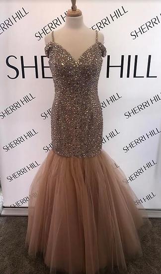 Sherri Hill 51446 Nude