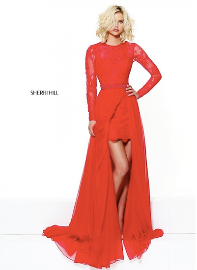 Sherri Hill 50949 Red