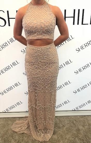 Sherri Hill 52088 Nude
