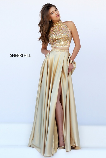 Sherri Hill 11330 Gold