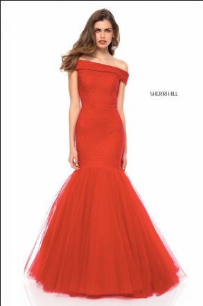 Sherri Hill 51778 Red