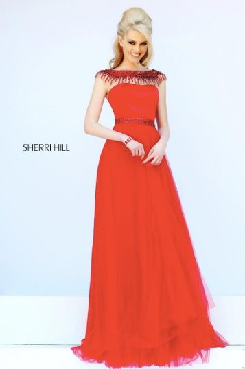 Sherri Hill 32138 Red