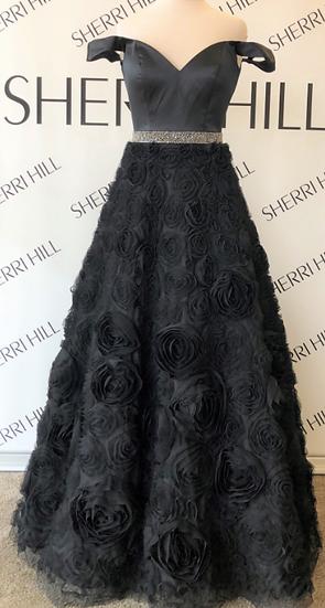 Sherri Hill 51885 Black