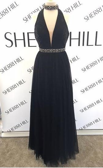 Sherri Hill 51637 Black