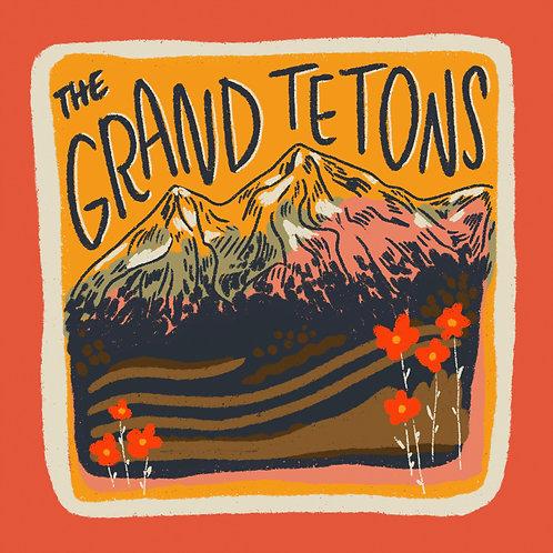 The Tetons Print