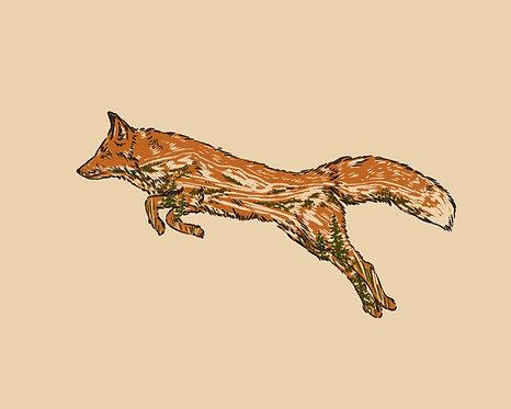Fox Run Print