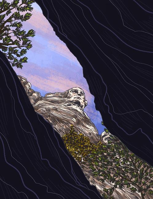 Mt. Rushmore Print
