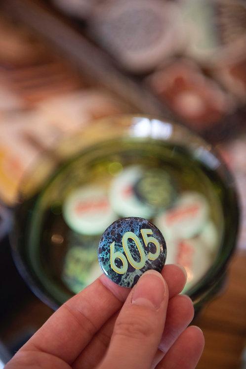 605 Button