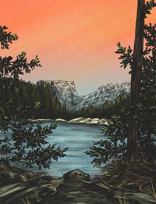 Lakeview Print