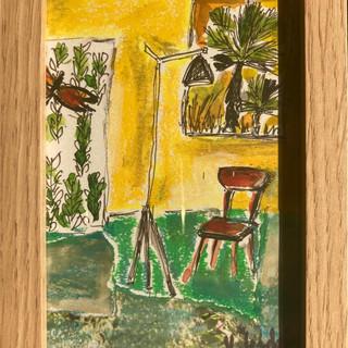 Palmier à la fenêtre