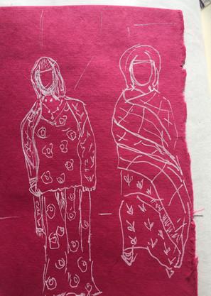 Femmes indiennes Rajasthan