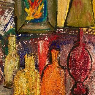 Série de vases à la cheminée