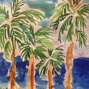 forêt êde palmier