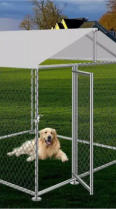 Galvanized Dog & Pet Kennel_Enclosure (1-1).webp
