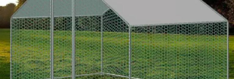 "Chicken and Pet Coop / Cage / Enclosure (118"" x 79"")"