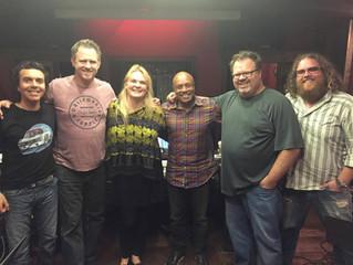 Heather Ramsey Clark recording in Nashville, TN.