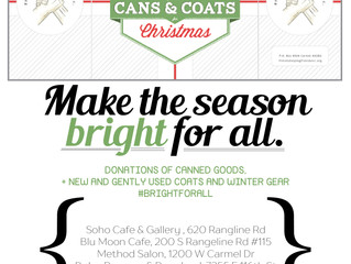 2015 FHF, Inc Cans & Coats Drive Underway!