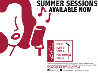 Summer Sessions NOW AVAILABLE!