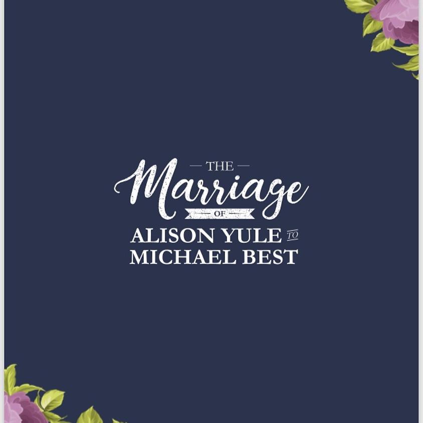 Alison & Mike's Wedding
