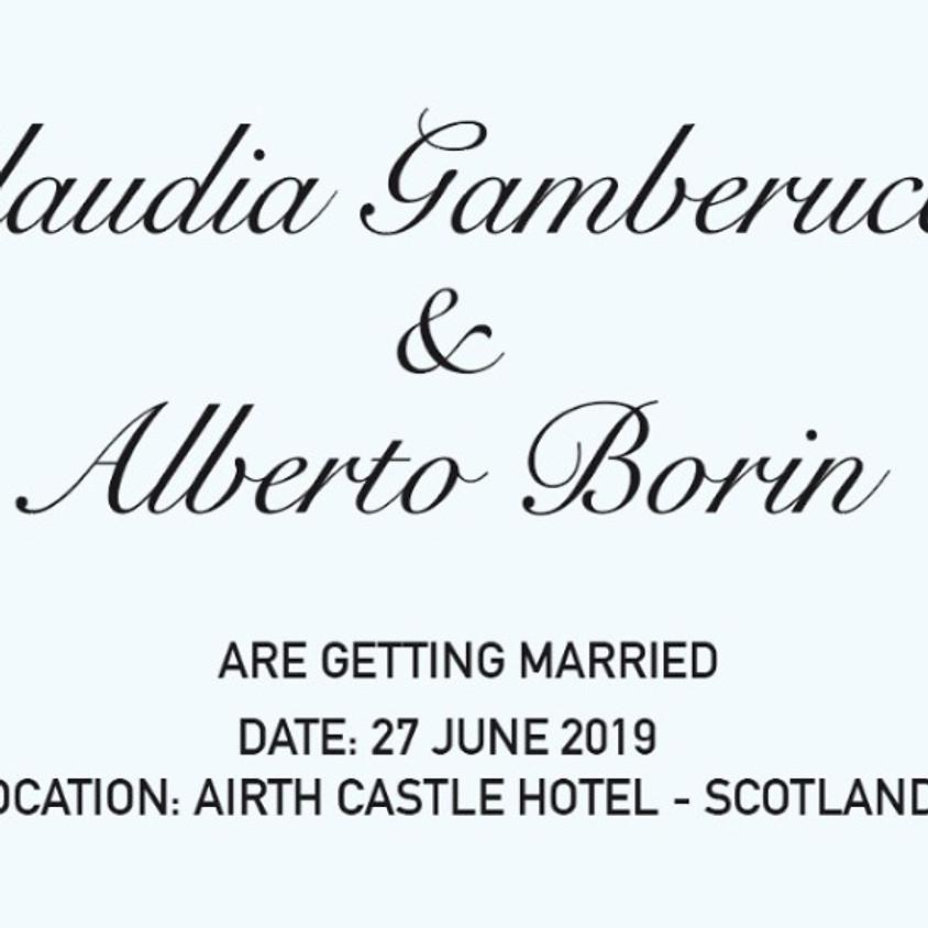 Claudia & Alberto's Wedding