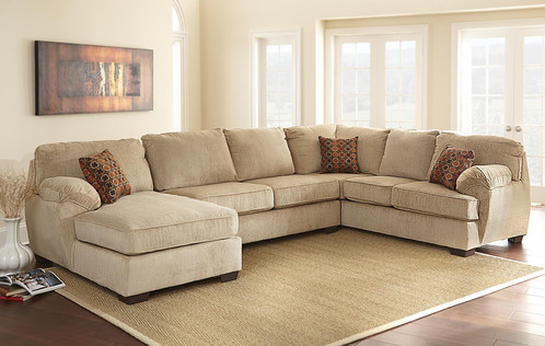 Stretch Out And Relax On This Handsome Brentwood Modern Bronze Velvet  Fabric Sectional. This Brentwood Furniture Collection Features Wooden Legs  And ...