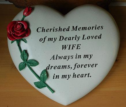 Heart Graveside Ornament