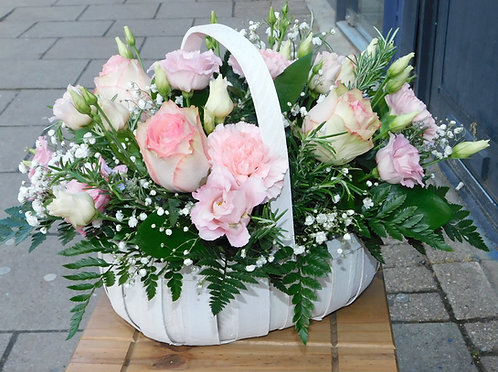 Pretty in Pink Basket