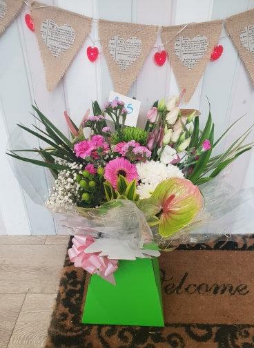 Anthurium Pink Bouquet