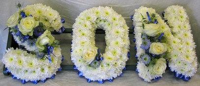 """""""Son"""" Floral Letter Design"""